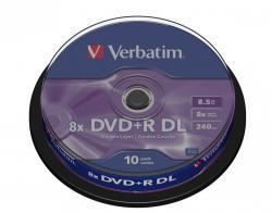 DVD+R (8x) 8.5GB DoubleLayer CB 10P 43666