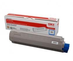 Toner-C810/C830 CYAN 8K 44059107