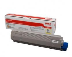 Toner-C810/C830 YELLOW 8K 44059105