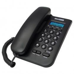KXT100 CZARNY TELEFN PRZEWODOWY