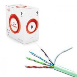 Kabel UTP KAT 6 drut AWG24 305m szary