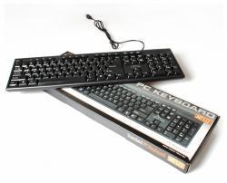 Klawiatura standardowa USB MT122KU, czarna