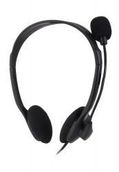 Słuchawki stereo z mikrofonem i regulacją głośności EH102