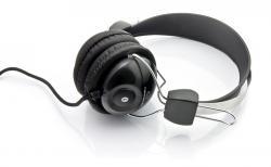 Słuchawki stereo z mikrofonem i regulacją głośności EH108