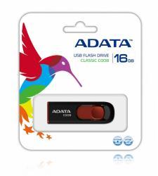 Pendrive DashDrive Classic C008 16GB USB2.0 czarno-czerwony
