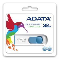 Pendrive DashDrive Classic C008 32GB USB2.0 biało- niebieskie