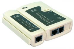 LogiLink Tester kabli do zlacz RJ11,RJ12,RJ45 z jednostką zdalna