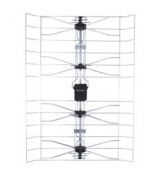 Antena DVB-T siatkowa,zewnetrzna, wzmacniacz