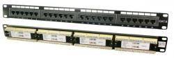 Patch panel CAT6 24-porty