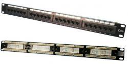 Patch panel CAT5e 24-porty