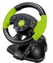 KIEROWNICA EG104 PC/PS3 X-BOX 360, VIBRATION FOR