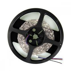 Whitenergy Taśma LED 5m 30szt/m SMD5050 7.2W/m 12V wew. 10mm RGB bez konektora