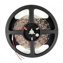 Whitenergy Taśma LED 5m 60szt/m SMD3528 4.8W/m 12V wew. 8mm zimna biała bez konektora