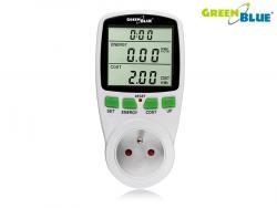 GreenBlue Miernik Watomierz GB-202 Do pomiaru mocy pobier