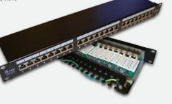 Patchpanel FTP 24-porty kat 6 pełny