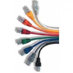 Patch cord ekranowany FTP kat.6 osłonka zalewana 1M czarny