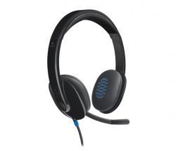 H540 Słuchawki z mikrofonem 981-000480 Black