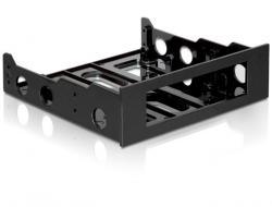 Adapter HDD Ramka 3,5''->5,25'' Czarny