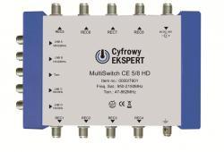 TechniSat MULTYSWITCH CE 5/8 HD