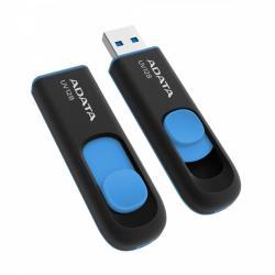 Pendrive DashDrive UV128 64GB USB 3.2 Gen1 czarno - niebieski