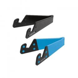 Mini stojak pod tablet, telefon niebiesko/czarny