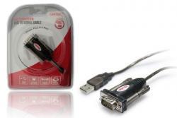 Adapter USB- 1xRS-232 + Adapter DB9F/DB25M; Y-105A