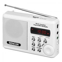 Sencor SRD 215 W RADIO z USB,MP3,SD