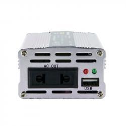 Whitenergy Przetwornica samochodowa DC12 V-AC230V 150W USB
