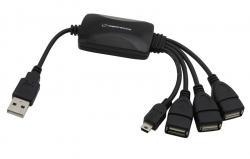 HUB 4 PORTY USB 2.0 EA114