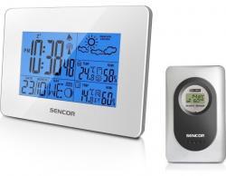 Sencor SWS 51 WH Stacja pogody biała