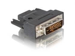 Adapter HDMI(F)->DVI(M)