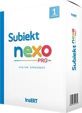 Subiekt NEXO PRO box 1 stanowisko SNP1