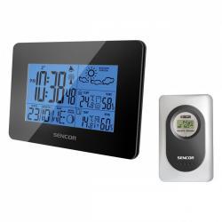 Sencor Stacja pogody SWS 51BK, bezprzewodowy termometr i higrometr