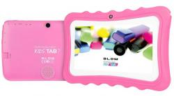 Tablet KidsTAB7.4HD2 quad różowy + etui