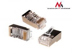 Maclean Wtyk RJ45 8P8C 5e linka MCTV-664 kpl. ekran