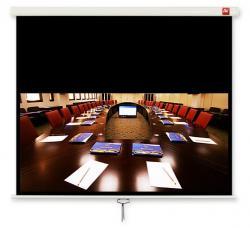 Ekran ścienny ręczny Cinema 200, 16:9, 200x200cm, powierzchnia biała, matowa
