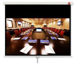 Ekran ścienny ręczny Cinema 240, 16:9, 240x200 cm, powierzchnia biała, matowa