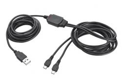 Trust GXT 222 Duo Charge & Play Cable for PS4