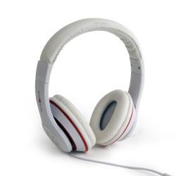 Słuchawki z mikrofonem Los Angeles Białe