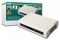 Serwer wydruku 10/100Mbps 2xUSB2.0 + 1xLPT