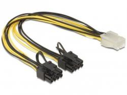 Kabel rozdzielacz zasilania PCI EXPRESS 2x8PIN/1x6PIN