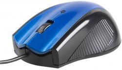 Mysz Dazzer niebieska USB