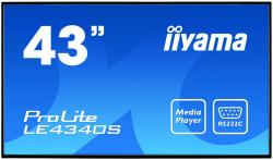 43'' LE4340S-B1 AMVA DVI/HDMI/USB Player/2x10W