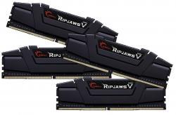 DDR4 64GB (4x16GB) RipjawsV 3200MHz CL16 XMP2 Black