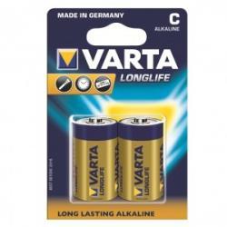 Baterie alkaliczne R14 (typC) longlife 2szt.