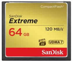 Extreme CompactFlash 64GB 120/85 MB/s