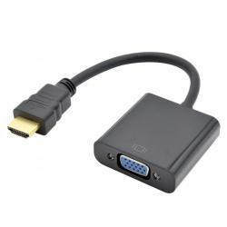Adapter VGA F-HDMI M 15 cm.