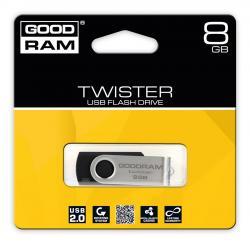 TWISTER 8GB Black USB2.0