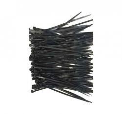 Opaska zaciskowa nylon 25cm/3.6mm (100szt) czarna