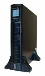 Zasilacz awaryjny UPS MEPRTII-1500 1500VA/1350W PF 0.9 ON-LINE LCD RT 6XIEC USB RS232 RJ45 EPO